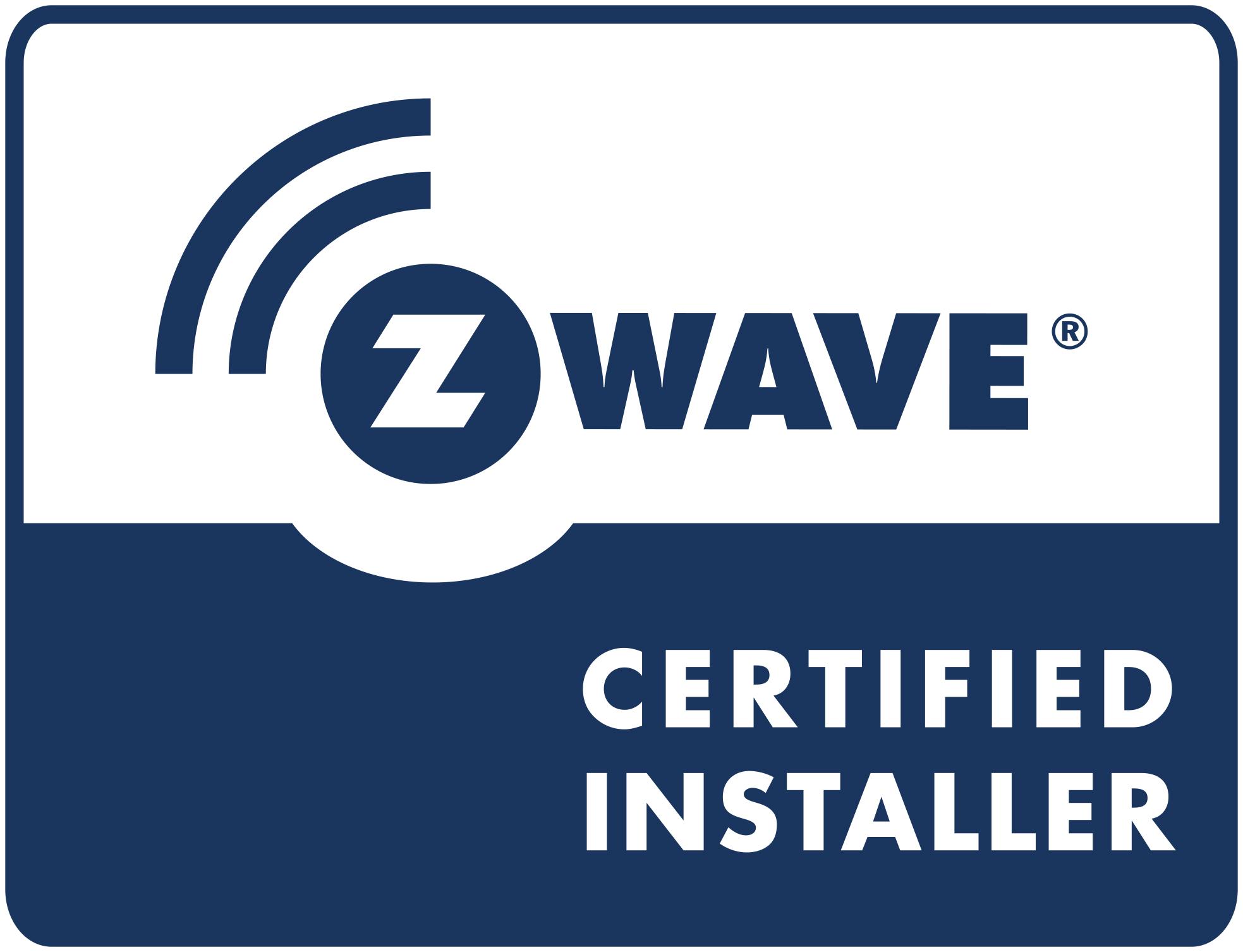 Z-wave Certified Installer